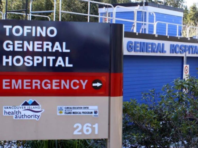 Four patients test positive for COVID-19 at Tofino General Hospital
